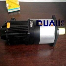 上海权立PF142小型行星减速机连接百格拉伺服驱动器