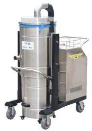 依晨大功率工业吸尘器YZ-4000-100B不锈钢桶身耐高温工厂用