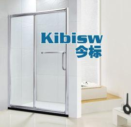 今标淋浴房厂家定做批发浴室玻璃隔断屏风移门洗手间玻璃门