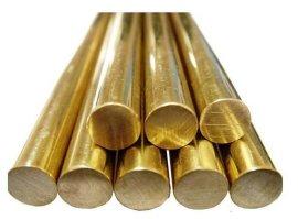 西安洛铜120MM黄铜棒