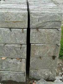 恒瑞石材供应绿色板岩    绿石英蘑菇石   型号齐全