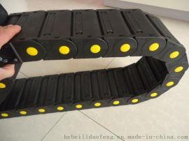 机床行业专用塑料拖链 尼龙塑料拖链 穿线拖链(机床附件生产厂家)