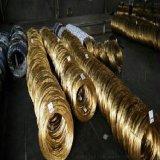 日本进口螺丝黄铜丝 铆钉黄铜线H65铜丝 黄铜线材H65 黄铜线