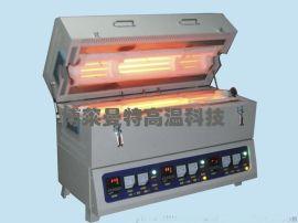 三温区管式加热炉,三温区管式电阻炉