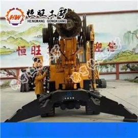履带式旋挖钻机 光伏电缆打桩机 长螺旋钻机
