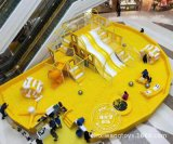 2020商場中庭百萬海洋球樂園室內兒童樂園設備魔鬼滑梯球池大滑梯