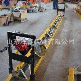 供应框架式混凝土路面振动梁整平机 路面铺设沥青混凝土摊铺机