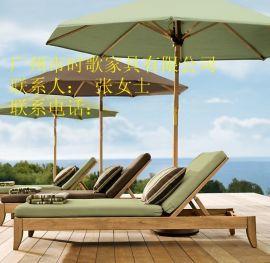 海南岛休闲沙滩椅