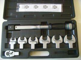 组合套装 扭力扳手 开口头 棘轮头 可换头 15-80N.M