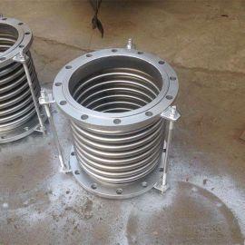 304不锈钢法兰式波纹管拉杆补偿器 膨胀节 伸缩节