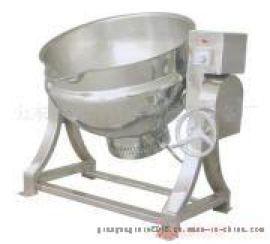 厂家供应强大火锅底料夹层锅增稠炒锅夹层锅