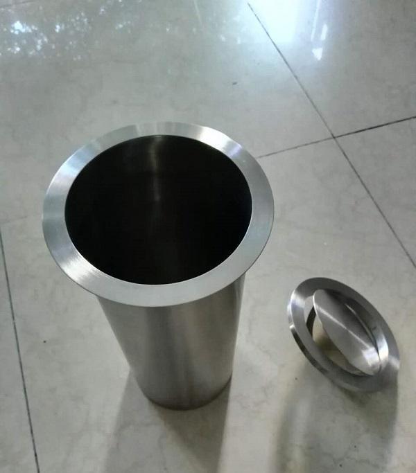 圆形 304不锈钢 台面 嵌入式 垃圾桶,