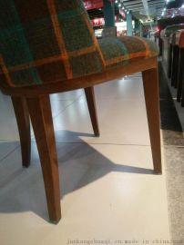 現代簡約咖啡餐桌椅西餐廳酒店桌椅實木休閒椅餐椅