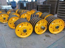 卷揚機滑輪組 吊鉤滑輪組 10t鑄鋼軋制滑輪組