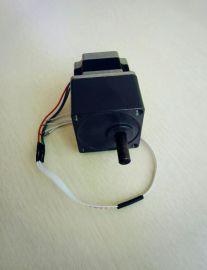 57减速步进电机轴径10mm医疗细胞制片机自动制片染色机减速电机