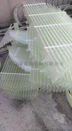 玻璃钢六角蜂窝斜板管填料加厚型斜管填斜管填料