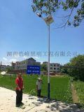 益陽市桃江 6米太陽能路燈led光源
