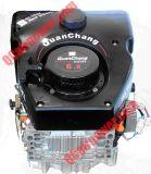 全昌立轴风冷柴油机QC250V单缸风冷柴油机内燃机农用机械动力通用动力