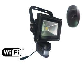 WiFi手远程监控10W投光灯摄像头移动录像摄像机照明灯摄像灯