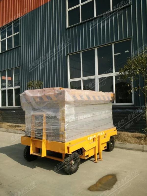 移动式液压升降平台SJJ-001南广机械高空作业平台规格齐全