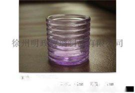 厂家生产 电镀 喷色 各种玻璃烛台