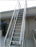 坚拓爬梯固定安装 登高梯 厂家生产不锈钢爬梯