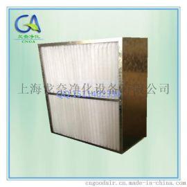 铝板框中效过滤网 中效箱式过滤器