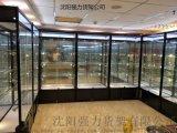 沈阳4s店展示架 玻璃展柜 首饰柜台 手机柜台