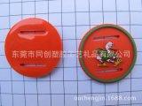 供应环保pvc软胶微量射出卡通织带扣吊牌加工订制