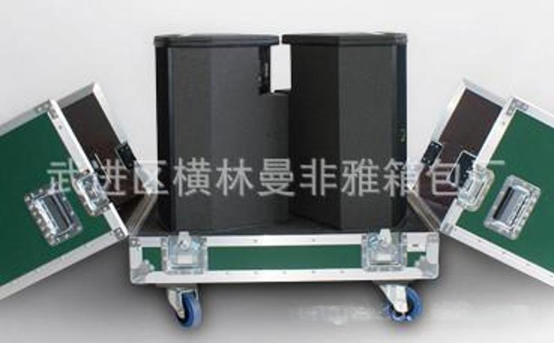 厂家定做大型航空设备铝箱 万向轮航空箱