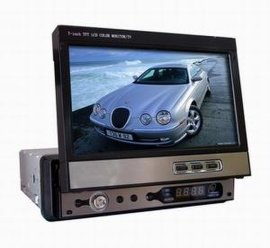 7寸液晶屏车载电视伸缩机式(TV-7018)