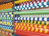 PVC夹网彩布