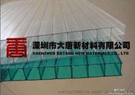 惠州阳光板厂 PC雨棚板厂家 顶棚车棚阳光板