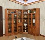 整体书柜 欧式书柜 全铝书柜 整体定制 鸿淼环保科技