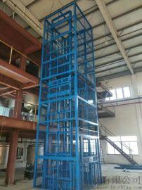 泉州市郑州市货物装卸平台液压货梯导轨式货运机械启运