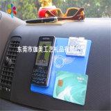 廠家直銷車載手機PVC防滑墊 塑膠防滑墊 卡通膠墊