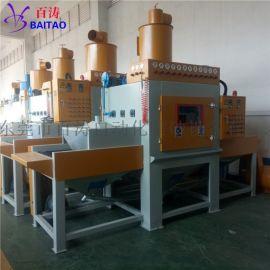 百涛输送式平面自动喷砂机设备供应