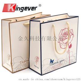 玫瑰花袋 纸袋手提袋包装袋子回礼袋礼品袋