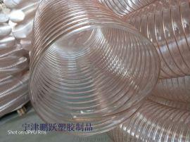 pu耐高温除尘透明钢丝波纹管厂家