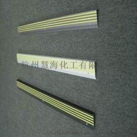 上下楼梯夜光铝合金防滑条标识用于公园户外 发光条 荧光条
