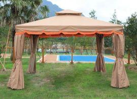 定制户外罗马帐篷、婚庆活动大型遮阳蓬、庭院四柱遮阳亭定制工厂