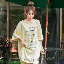 DNCY品牌尾货剪标女装批发折扣 品牌女装的利润尾货卡其色针织衫
