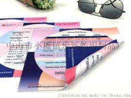 廠家直供纖維鏡面清潔布眼鏡布 數碼印電子產品擦拭布
