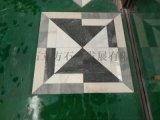 酒店、馬路地板磚 天然大理石地板磚拼花