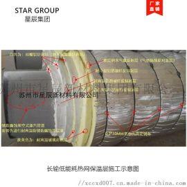 长输低能耗热网专用抗对流层 管道供热工程保温材料