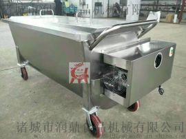 不锈钢食品运输车 搅拌保温车 辣椒酱搅拌机
