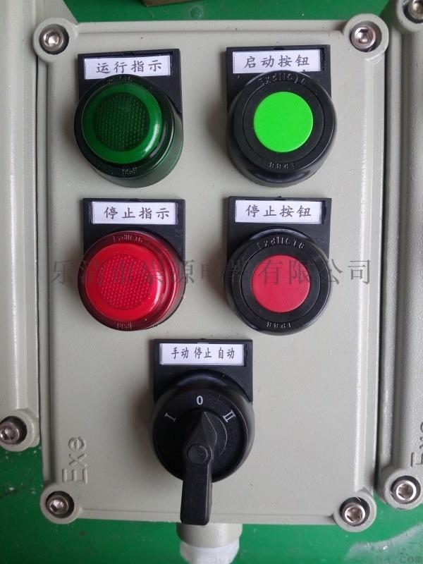崇源防爆电控箱厂家直销LBZ-10系列防爆操作柱