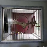 加工金屬異形屏風隔斷不鏽鋼鈦金屏風