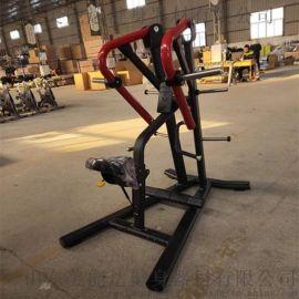 固定力量训练器械美能达推胸训练器山东健身器材厂家