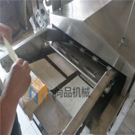 专业生产面片油炸机器 全自动酥脆面片油炸机生产线